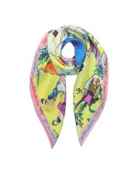 Christian Lacroix   Green 20 Ans Pure Silk Womnen's Square Scarf   Lyst