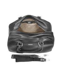 Moreschi - Black New Boston Leather Travel Bag - Lyst