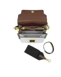 Marni - White Trunk Mini Leather Shoulder Bag - Lyst