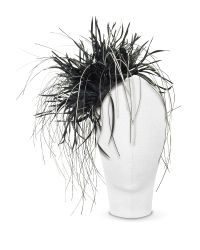 Nana' | Alicia - Black Feather Headdress | Lyst