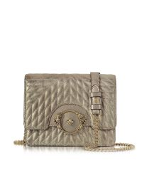 Roberto Cavalli | Star Metallic Quilted Nappa Leather Shoulder Bag | Lyst