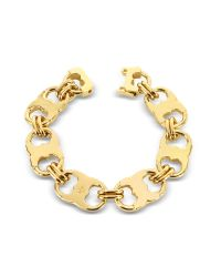 Tory Burch | Metallic Gemini Gold Tone Link Bracelet | Lyst