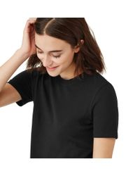 Frank + Oak - The Boy Tee In Black for Men - Lyst