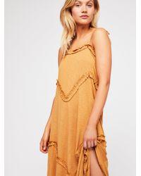 Free People - Orange Avalon Maxi Dress - Lyst
