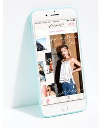 Free People - Blue Ultra Slim Iphone Case - Lyst