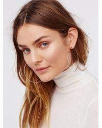Free People - Multicolor Cherry Bomb Ombre Hoops - Lyst
