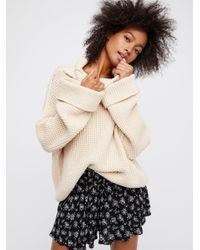 Free People | Natural Inner Circle Short | Lyst