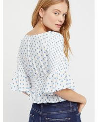 Free People - Multicolor A Bit Of Something Sweet Top - Lyst