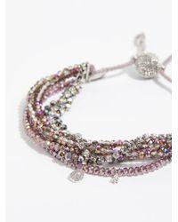Free People - Metallic Serefina 7 In 1 Bracelet - Lyst