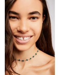 Free People - Multicolor Glimmer Stone Necklace - Lyst
