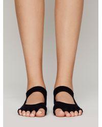Free People - Black Namaste Yoga Sock - Lyst