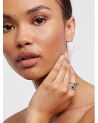 Free People - Multicolor Grounding Turquoise Wrap Ring - Lyst