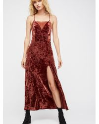 Free People - Red Moon Child Maxi Slip - Lyst