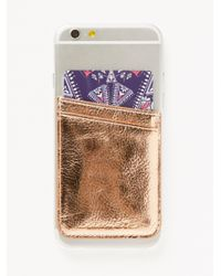 Free People - Multicolor Leather Iphone Pocket - Lyst