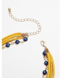 Free People - Multicolor Wanted & Wild Leather Bolo - Lyst