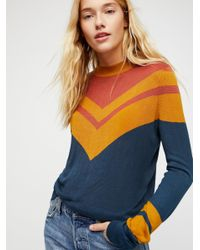 Free People - Multicolor Show Off Your Stripes Pullover - Lyst
