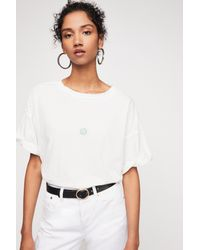 e247feb05 Free People We The Free Love You Tee in White - Lyst