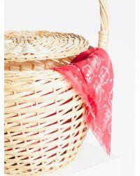 Free People - Natural Straw Basket - Lyst