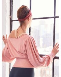 Free People - Pink Pirouette Sweat - Lyst