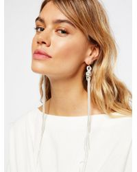 Free People - Multicolor Accessories Jewelry Earrings Finest Hour Snakechain Dusters - Lyst