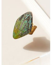 Free People - Multicolor Rhombus Patina Ring - Lyst