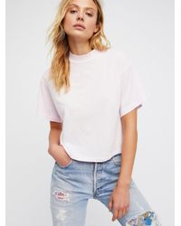 Free People - White Need You Tee - Lyst