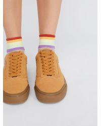 Free People - Multicolor Jaded Anklet - Lyst