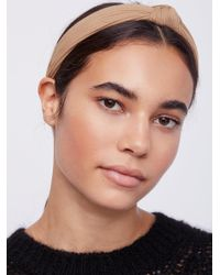 Free People - Natural Ribbed Knot Headband - Lyst