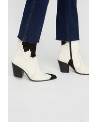 Free People - Blue Weston Ankle Boot - Lyst