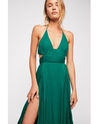 Free People - Green Lille Maxi Dress By Endless Summer - Lyst