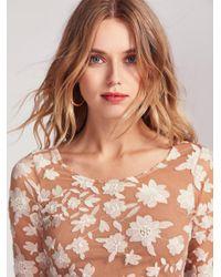 Free People - White Temecula Bow Back Mini Dress - Lyst