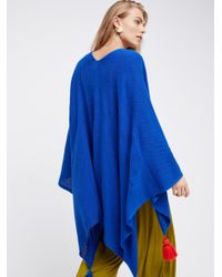 Free People   Blue Spirit In The Sky Travel Scarf   Lyst