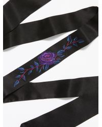 Free People - Multicolor Kiss By A Rose Skinny Scarf - Lyst