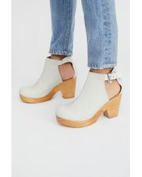 Free People - Gray Amber Orchard Clog By Fp Collection - Lyst