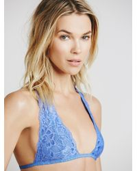Free People - Blue Truly Madly Deeply Halter - Lyst