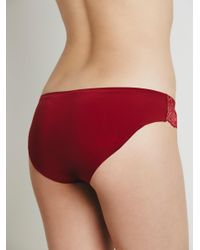 Free People - Red Smooth Bikini - Lyst