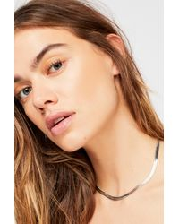 Free People - Metallic Nas Chain Necklace By Vanessa Mooney - Lyst