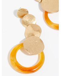 Free People - Multicolor Gold Dust Earrings - Lyst