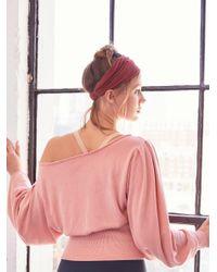 Free People - Pink Pirouette Sweat - Lyst