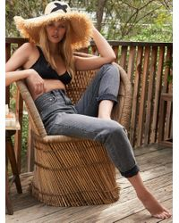 Free People   Black All Day Everyday Jean   Lyst