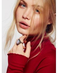 Free People | Metallic Astrid Opal Ring | Lyst