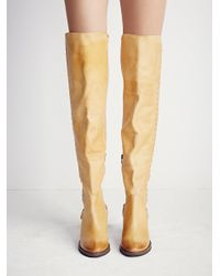 Free People | Natural Fp Collection Womens Auburn Tall Boot | Lyst
