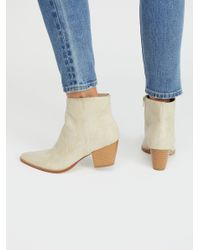 Free People - White Vegan Going West Boot By Matisse - Lyst