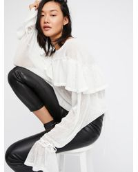 Free People - White Daily Cheer Top - Lyst