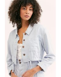 Free People - Blue Everly Suit - Lyst