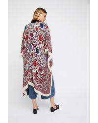 Free People - Multicolor Magic Dance Border Print Kimono - Lyst