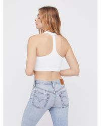 Free People - White Take Me Back Brami By Intimately - Lyst