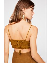 Free People - Green Essential Crop Top By Endless Summer - Lyst