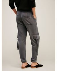Free People | Black Cannon Pant | Lyst