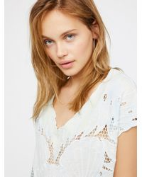 Free People | Multicolor Castaway Tunic | Lyst